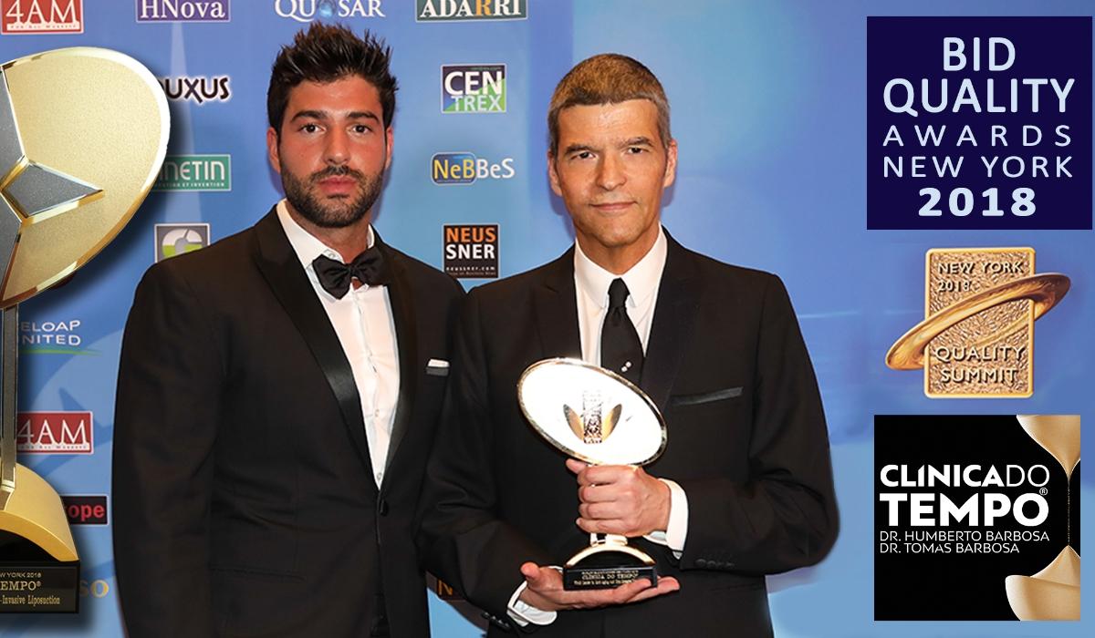 Humberto e Tomás Barbosa em Nova Iorque para receber prémio especial