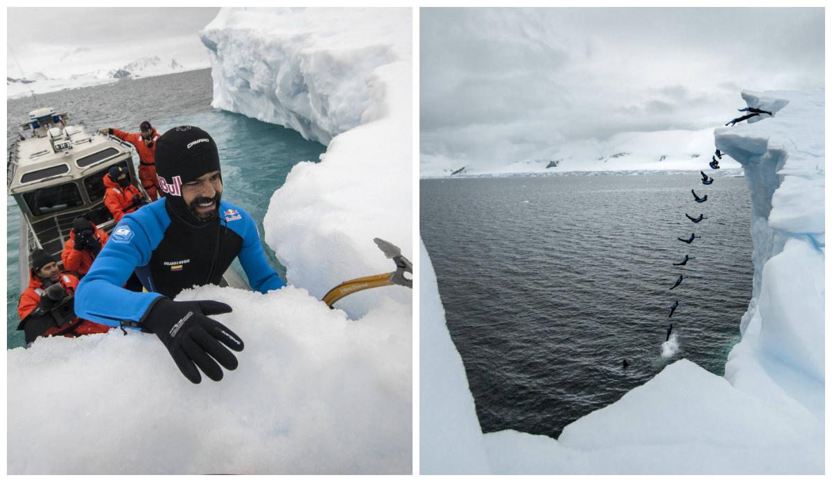 Voar baixinho na Antártica, com Orlando Duque