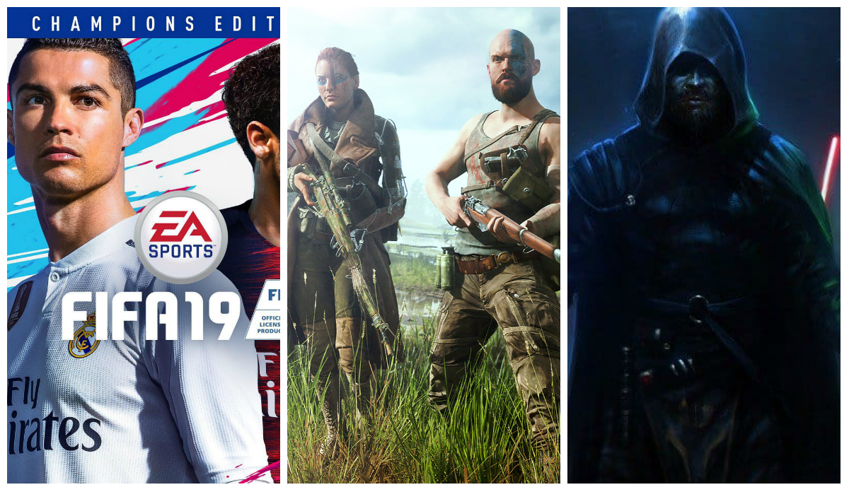 FIFA modo Champions, Battlefield na senda de Fortnite e novo Star Wars