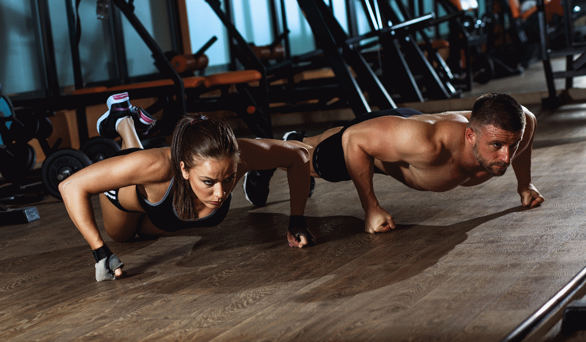 Faça 100 flexões por dia em menos de dois meses