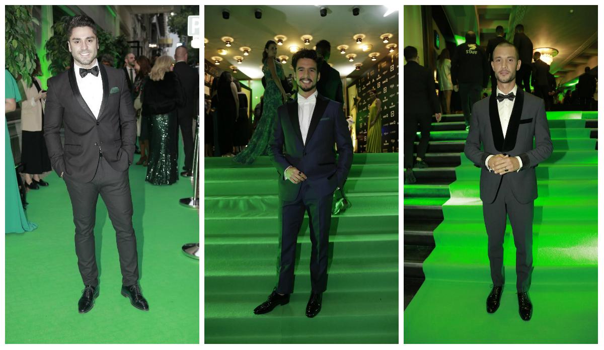 Os homens mais elegantes da Gala dos Troféus de Televisão