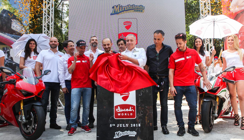 Vem aí o parque temático da Ducati, o primeiro do mundo dedicado às motas