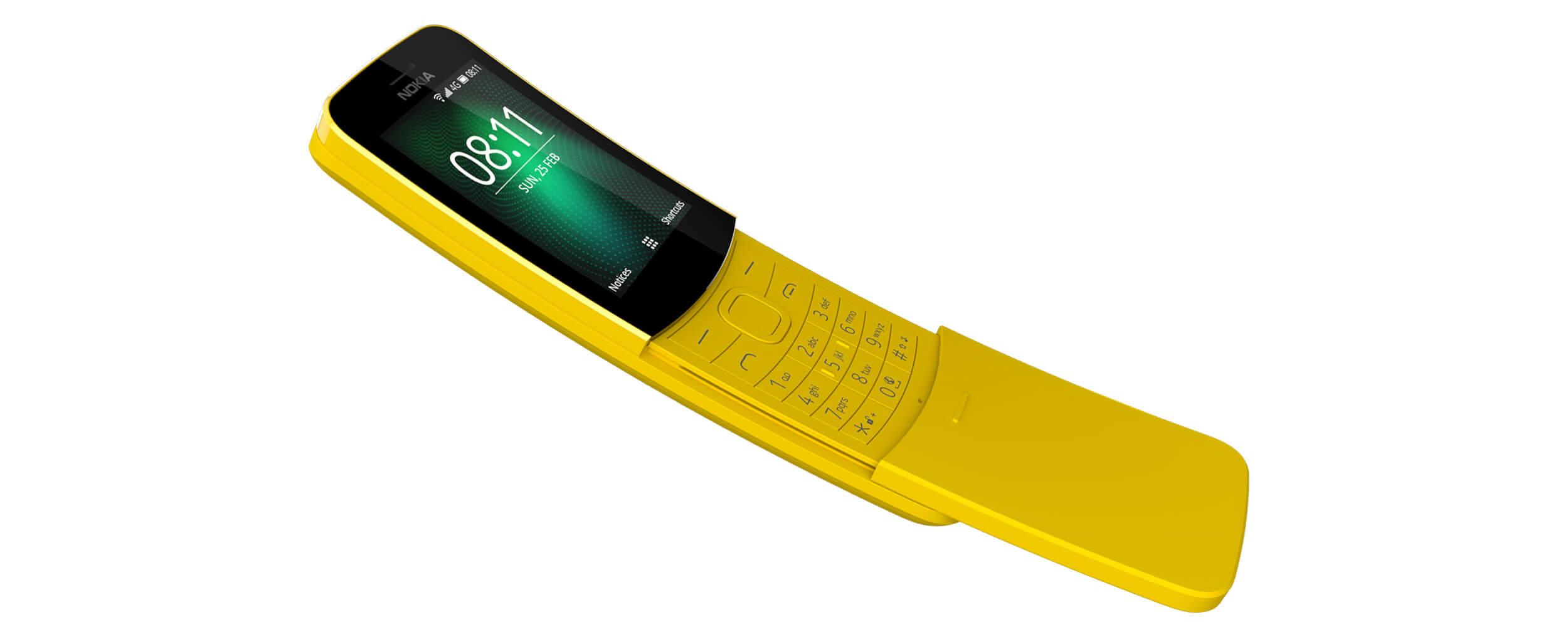 Já pode comprar o renascido Nokia 8110