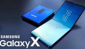 Smartphone desdobrável da Samsung deverá sair em 2019