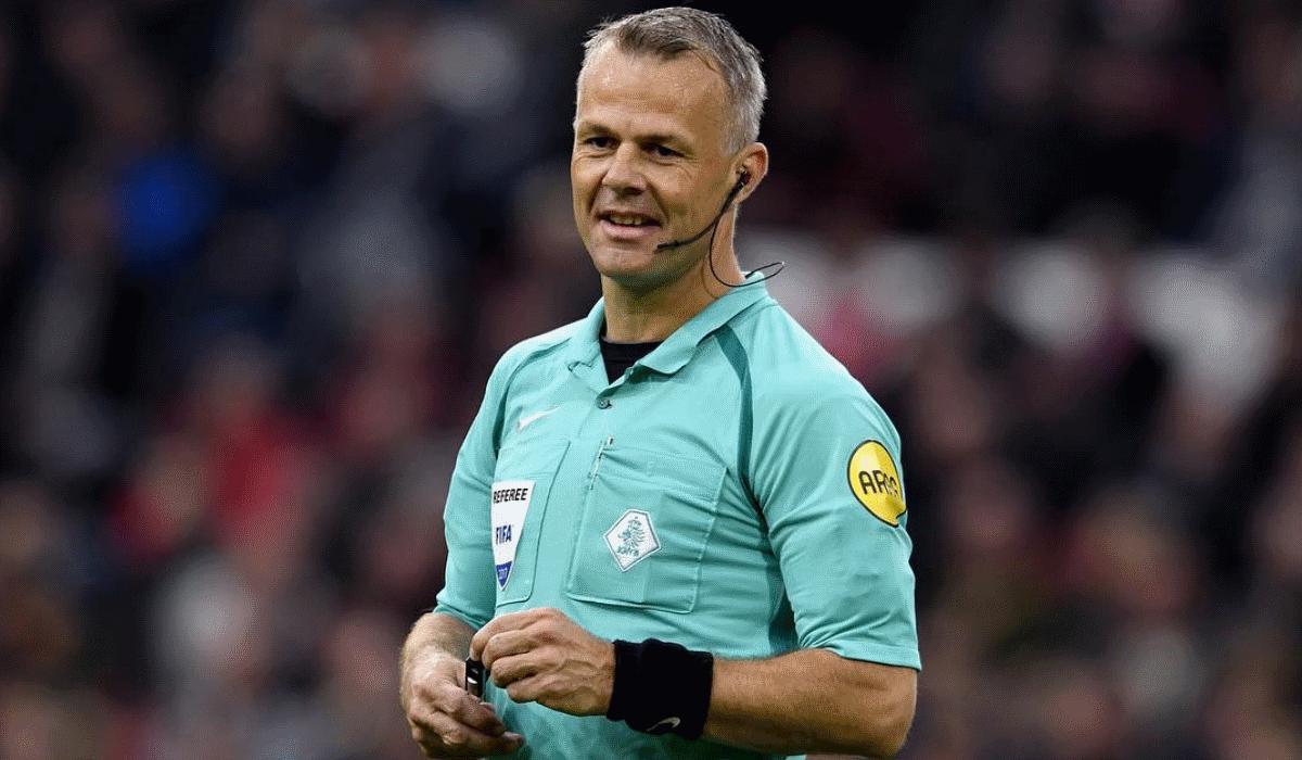 Bjorn Kuipers, o árbitro milionário do Mundial da Rússia