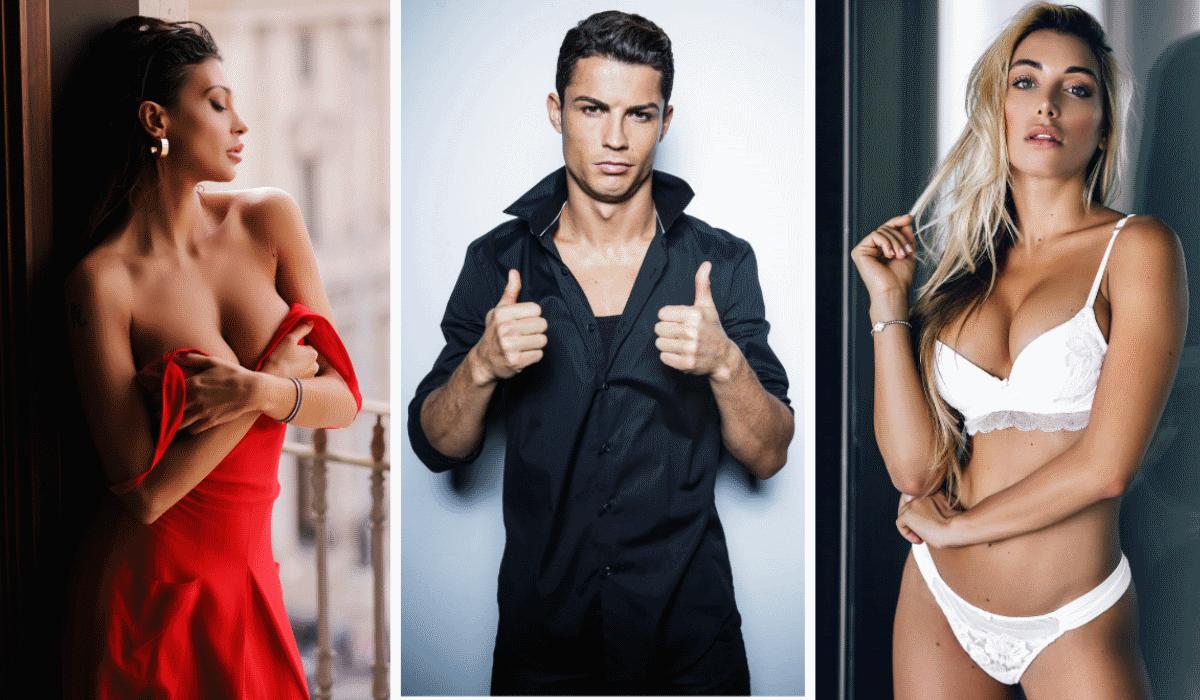 As 6 italianas que garantem ter tido um caso com Cristiano Ronaldo