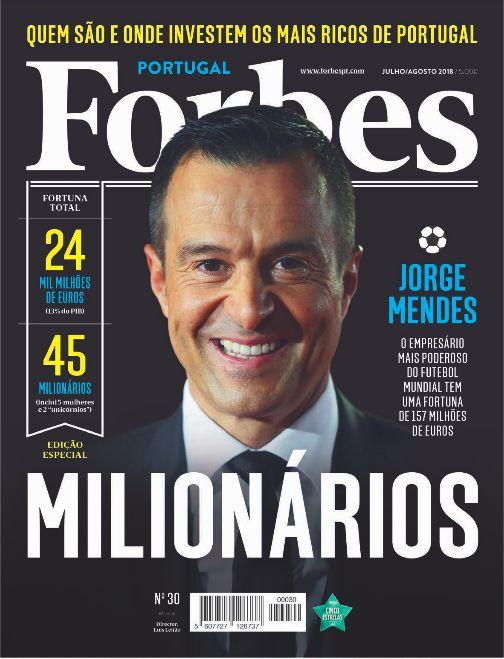 Jorge Mendes é o milionário mais mediático de Portugal