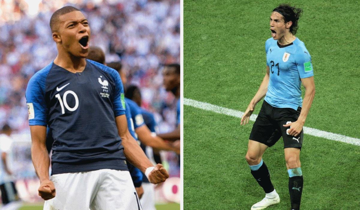 França e Uruguai, os gémeos do Mundial que vão ter de ser separados