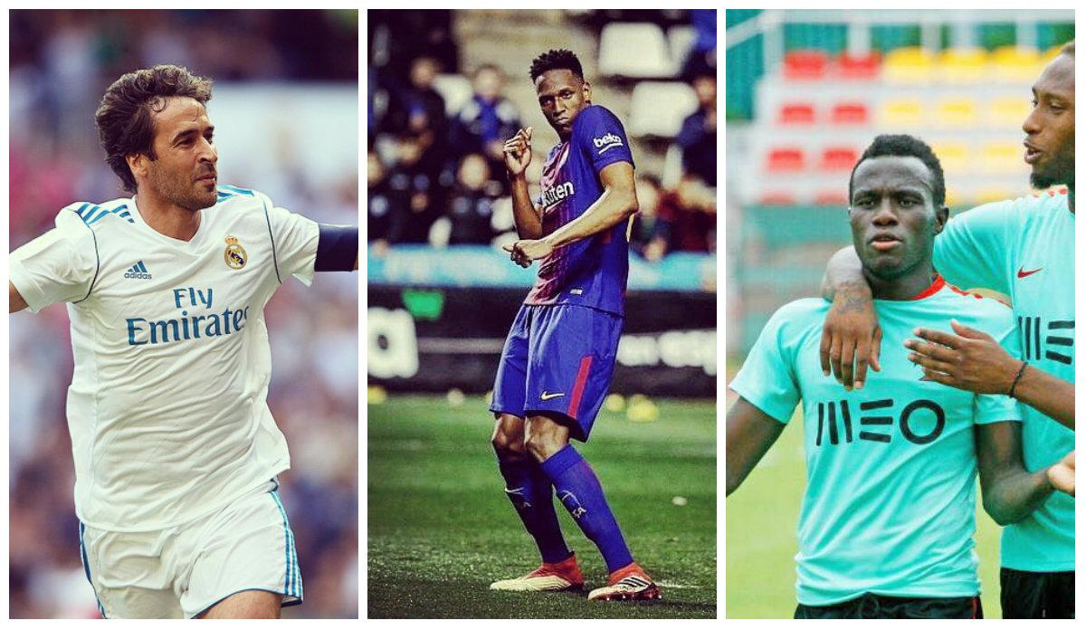 Raúl melhor que Ronaldo, Bruma desiludido com Fernando Santos e duelo português por alvo do Barça