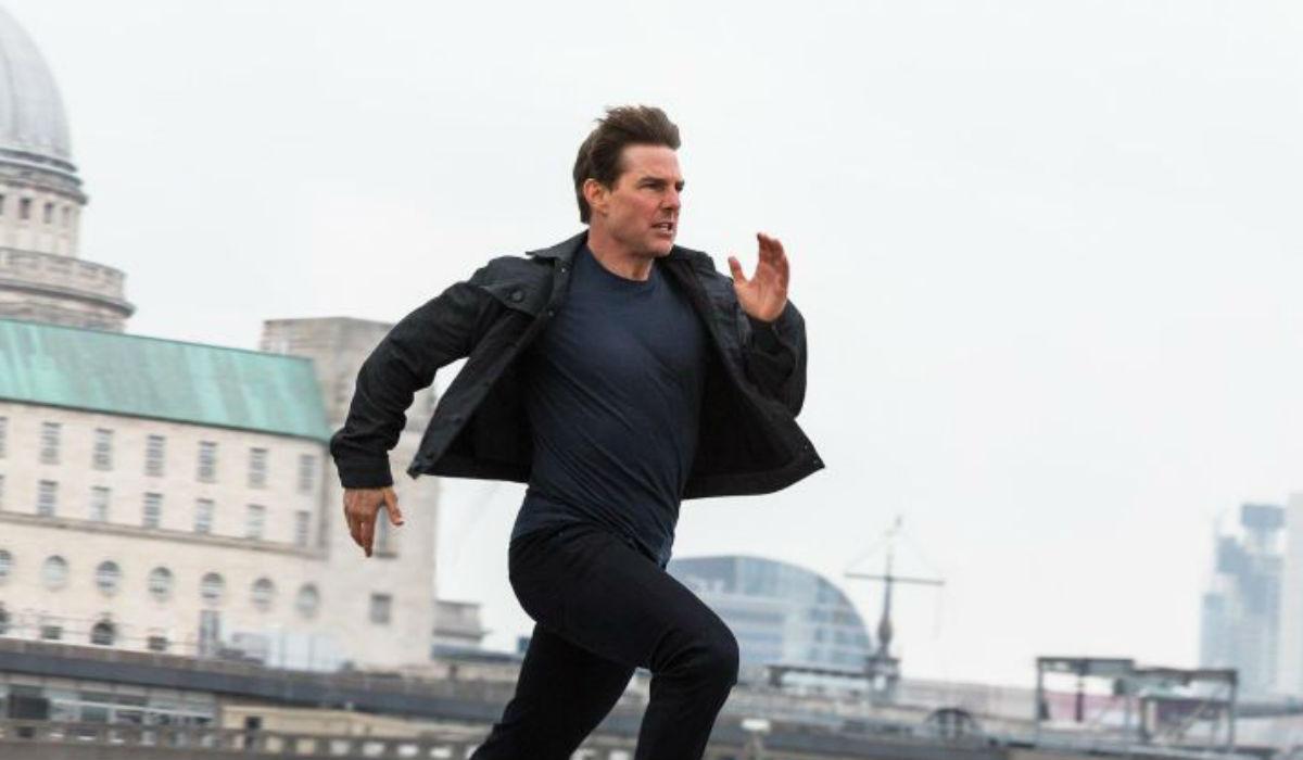 Tom Cruise. Quando mais o ator corre, melhor corre