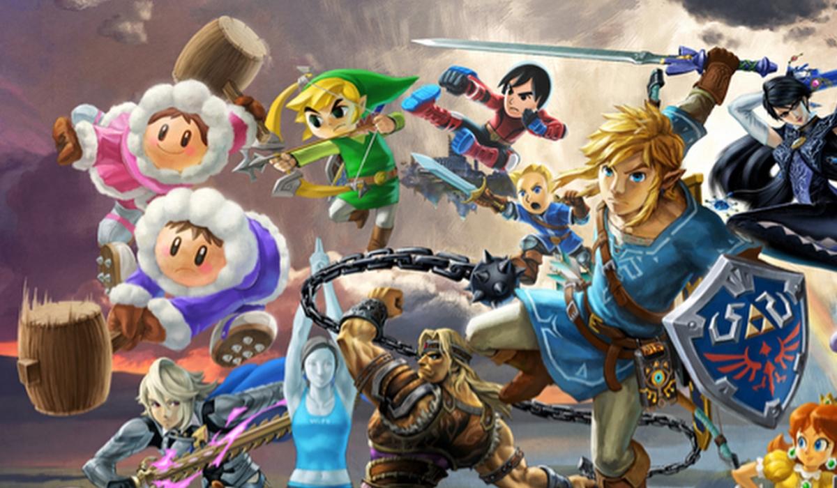 Principais personagens da Nintendo juntos num único jogo