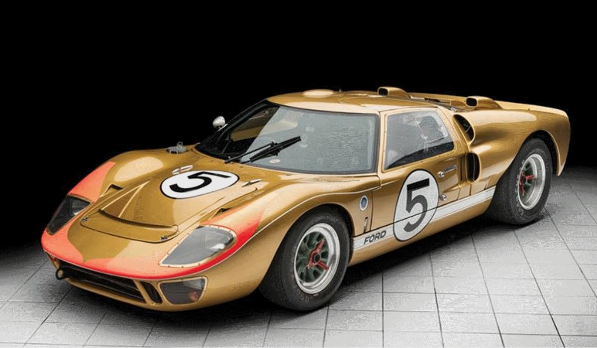 Ford GT 40 Mk II que fez sucesso nas 24H de Le Mans pode ser seu