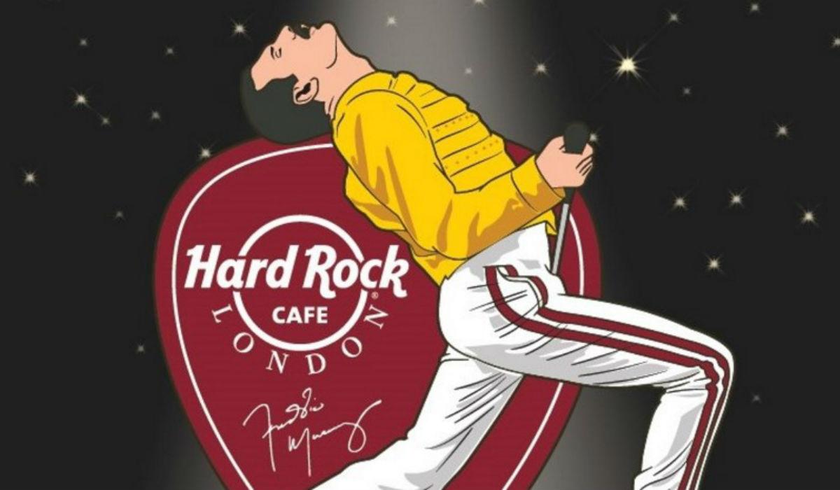 Hard Rock Cafe Lisboa dedica dia a Freddie Mercury