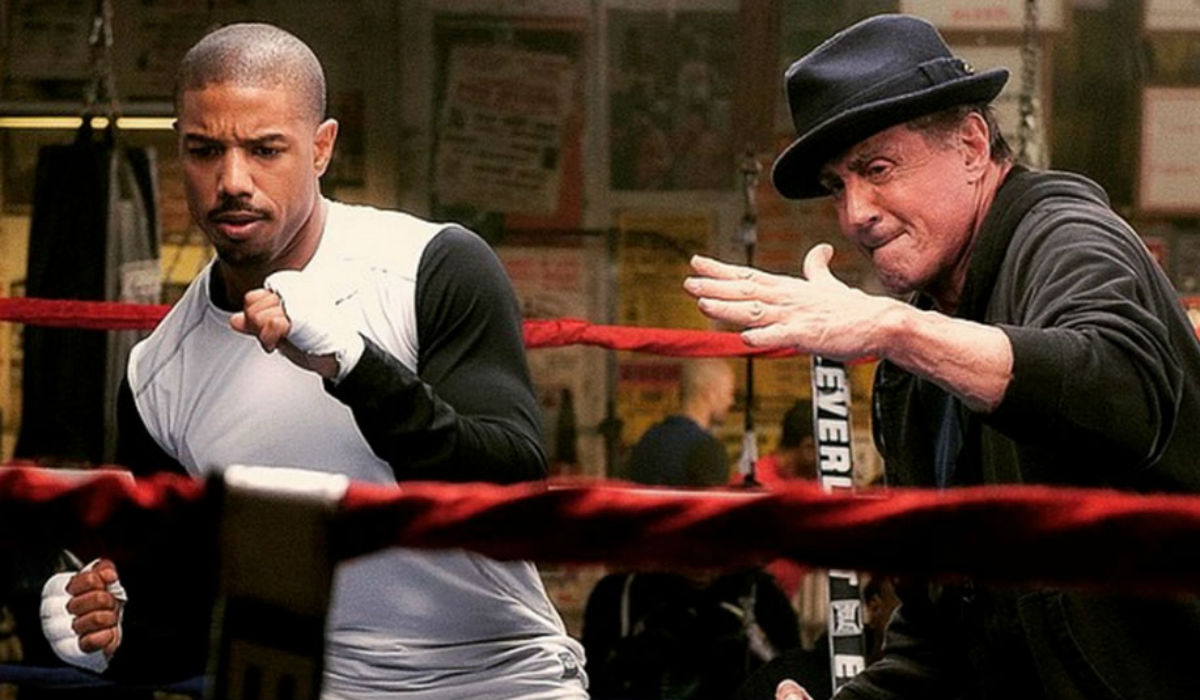 """Stallone arrasa Hollywood, dá novidade sobre """"Creed"""" e revela que Rocky não é um filme de boxe"""