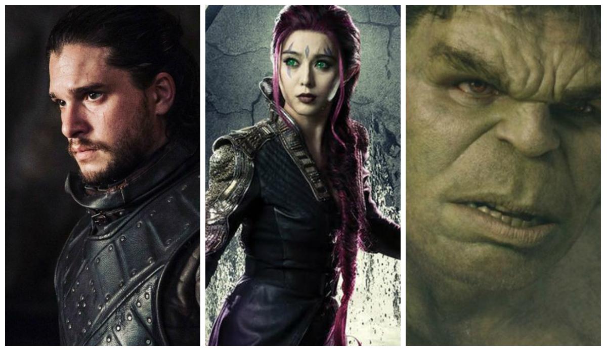 """Jon Snow critica Marvel, Blink presa na China e Hulk não sabe o final de """"Vingadores"""""""