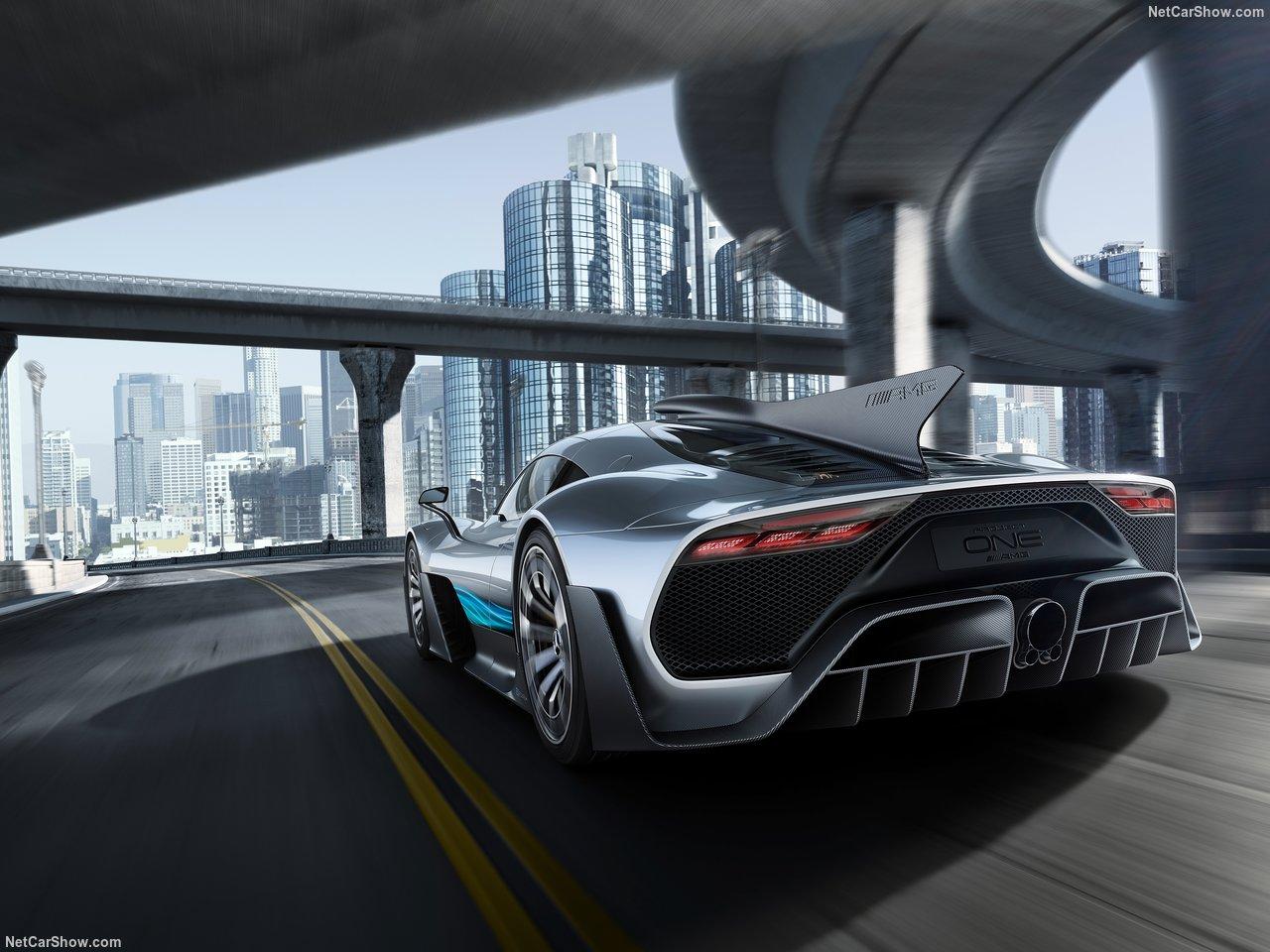 Mercedes-AMG ONE, o hiperdesportivo de 1000 cv com tecnologia de Fórmula 1