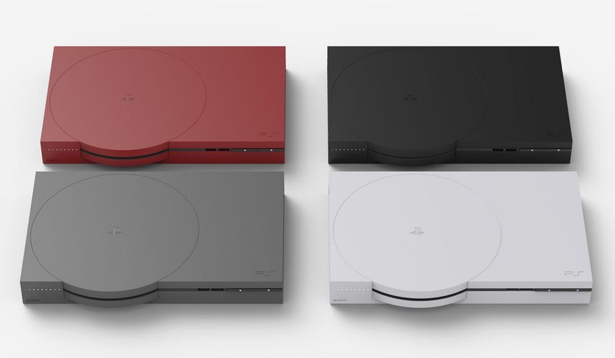 Assim seria a Playstation 1 se fosse desenhada nos dias de hoje