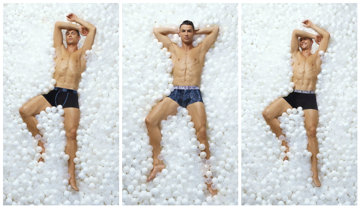 Cristiano Ronaldo lança coleção de roupa interior que o fará sentir-se como o melhor do mundo