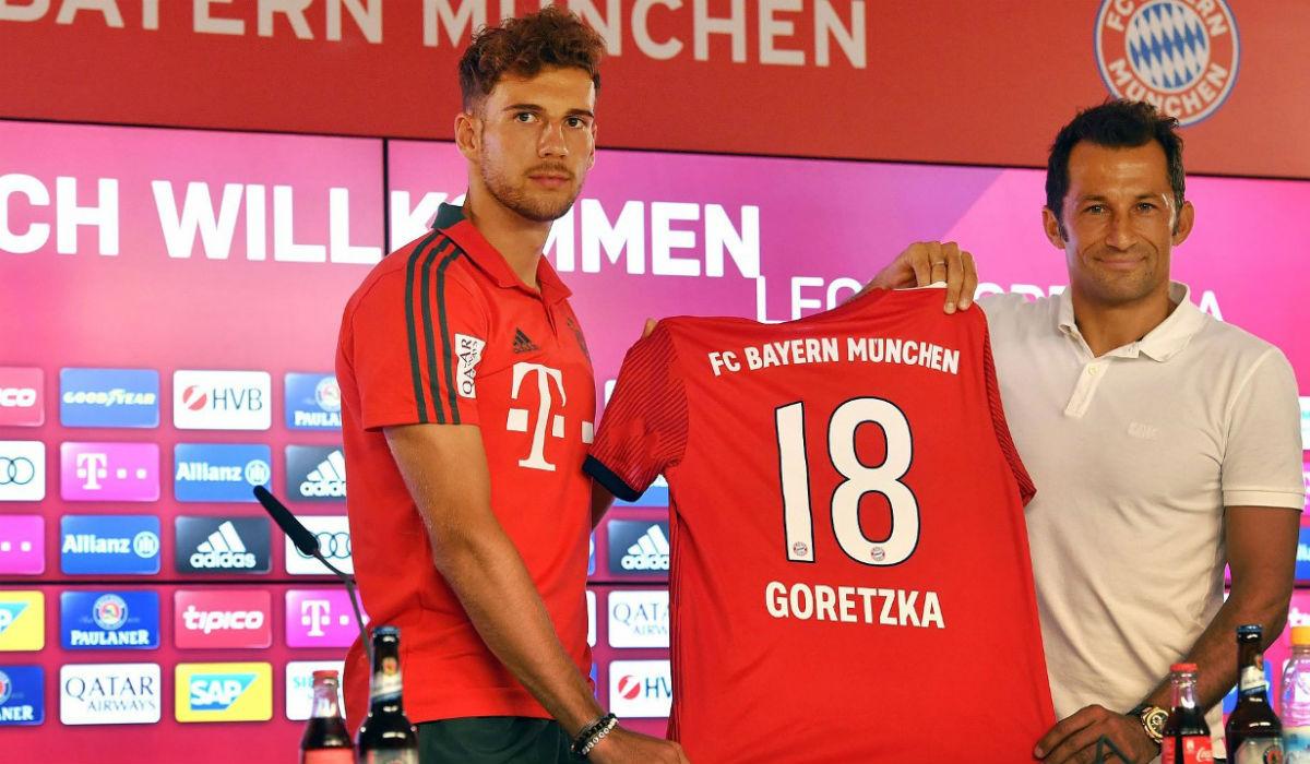 Goretzka, do inferno no Schalke ao paraíso no Bayern
