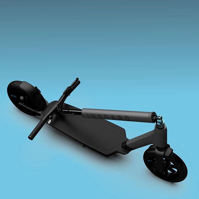 Glider, a trotinete elétrica com bateiras amovíveis