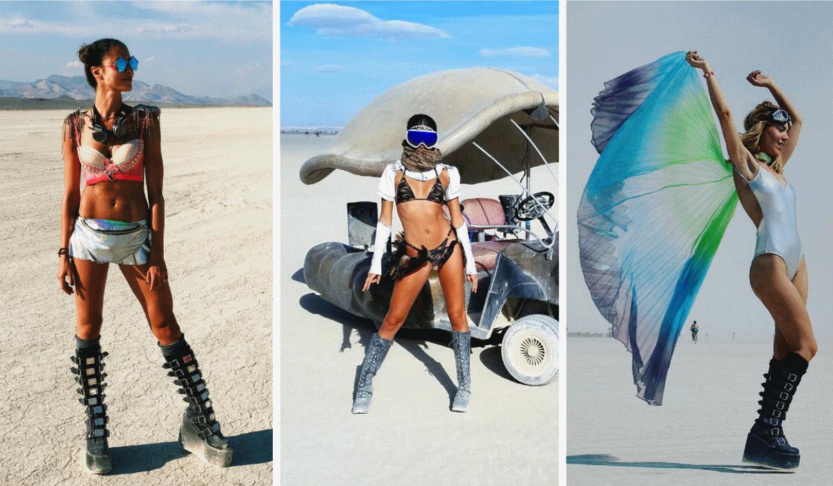Sara Salgado, Sara Sampaio e Raquel Strada dão mais encanto ao Burning Man