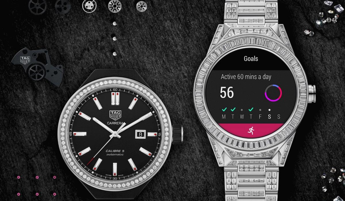 Tag Heuer 45 Connected Modular Full Diamond é o smartwatch mais caro do mundo