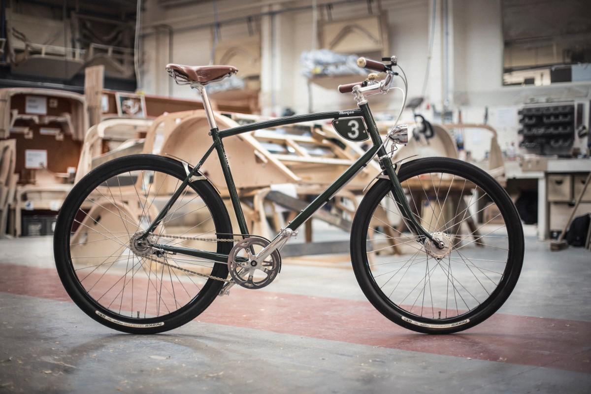 Se quer uma bicicleta Pashley, tem de ir à construtora automóvel Morgan