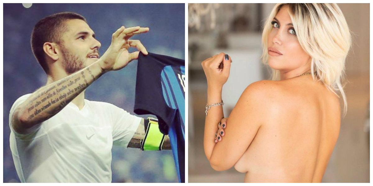 Icardi e Wanda. Ele marca golos, ela arrisca prisão. Juntos, são o casal mais polémico do futebol italiano