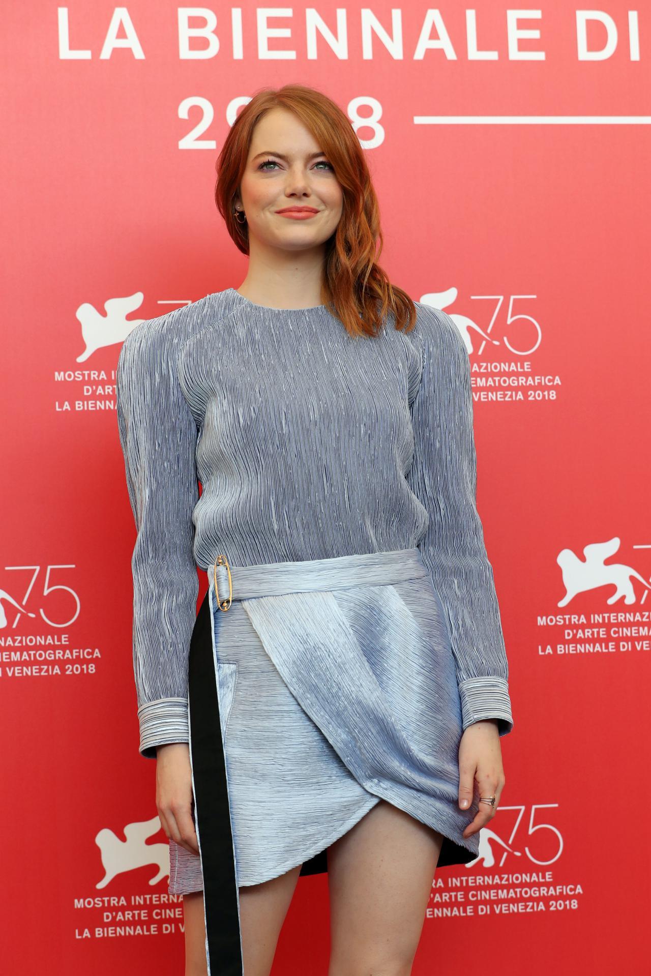 """Emma Stone quis aparecer """"totalmente nua"""" num filme pela primeira vez"""