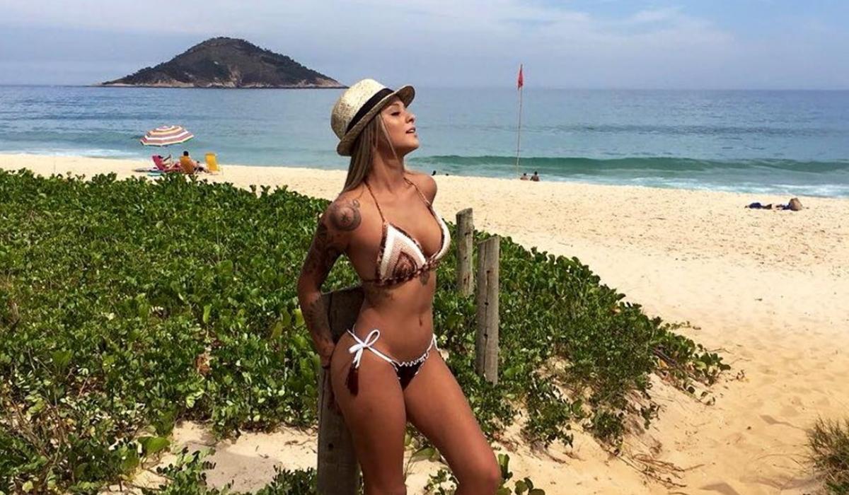 É a Bruna de Neymar, mas não é Marquezine