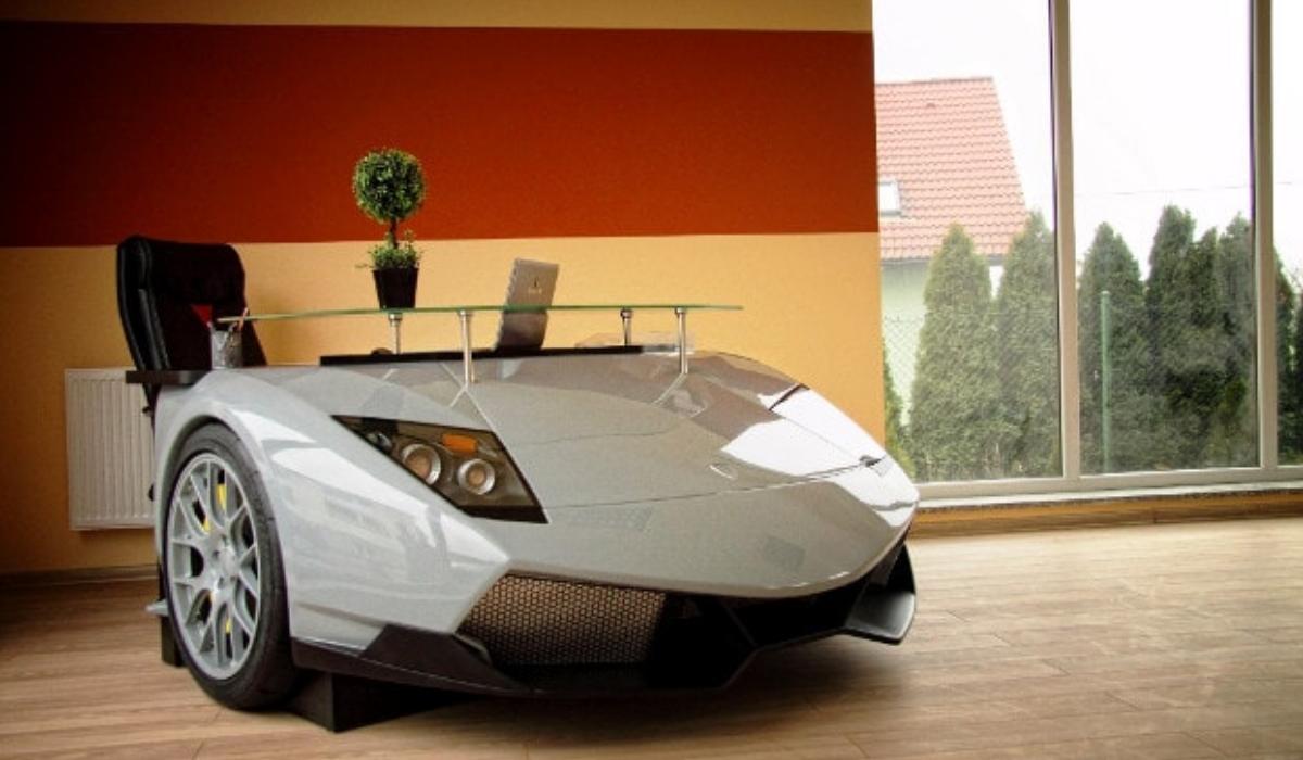 Ter um Lamborghini na sala está ao alcance de todos