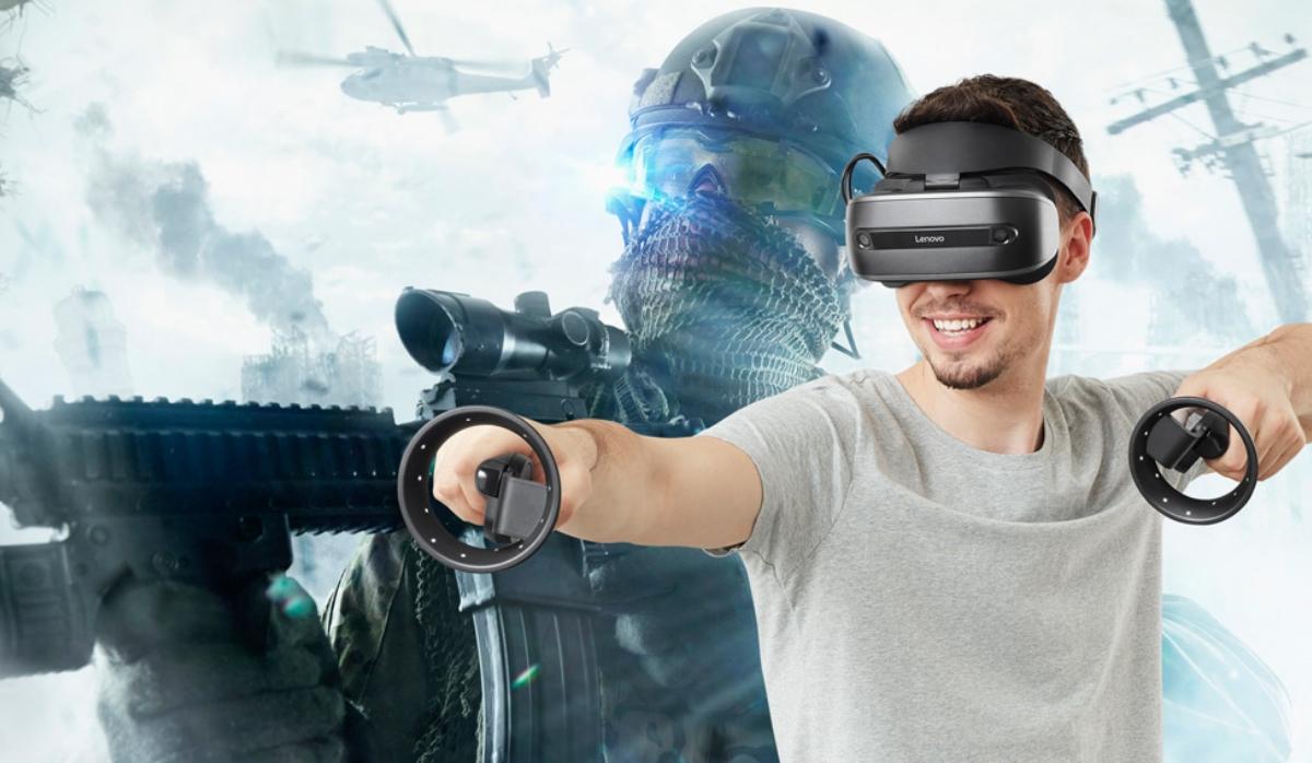 Novo headset da Lenovo quer deixá-lo em dois mundos paralelos