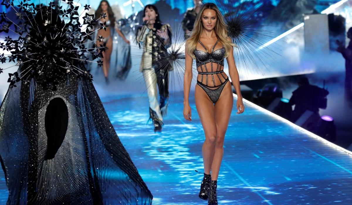Candice Swanepoel foi a estrela do desfile da Victoria's Secret, mas tem de ver os outros anjos