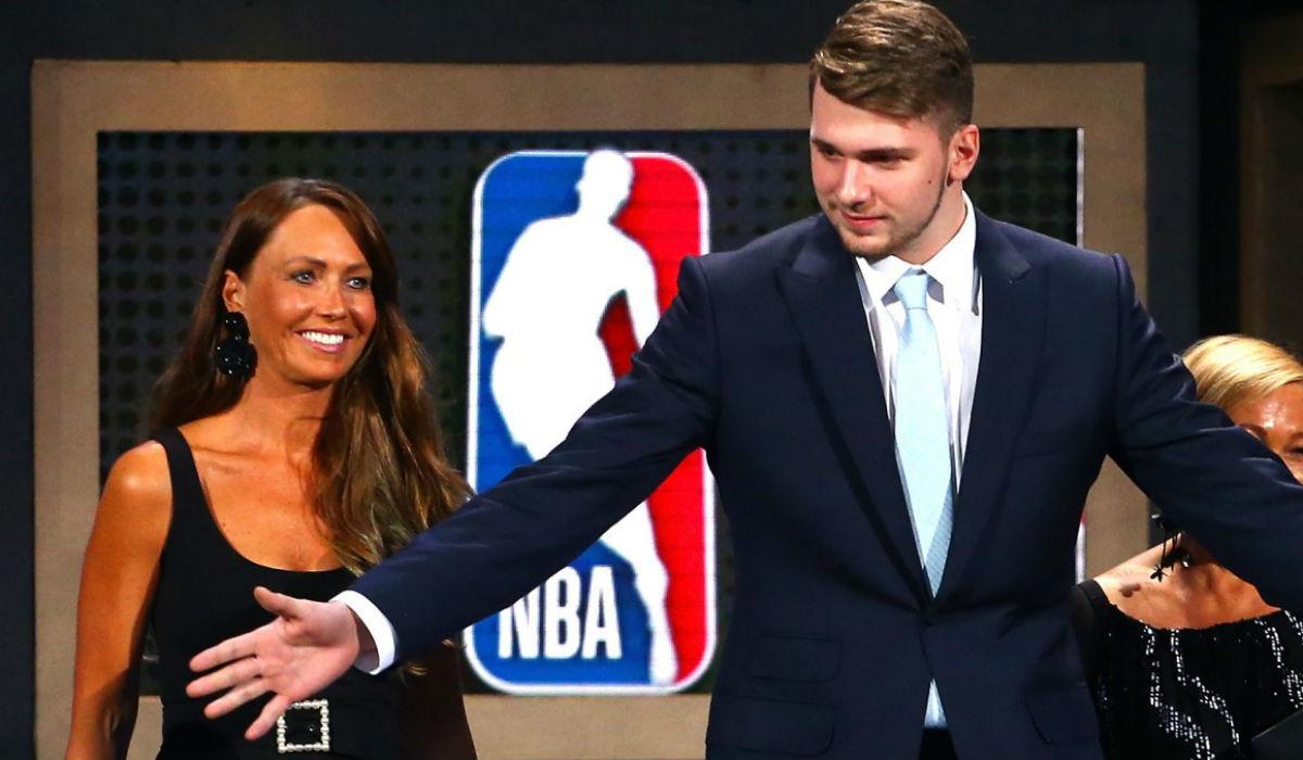Luka Doncic, o novo LeBron James que tem uma mãe escaldante
