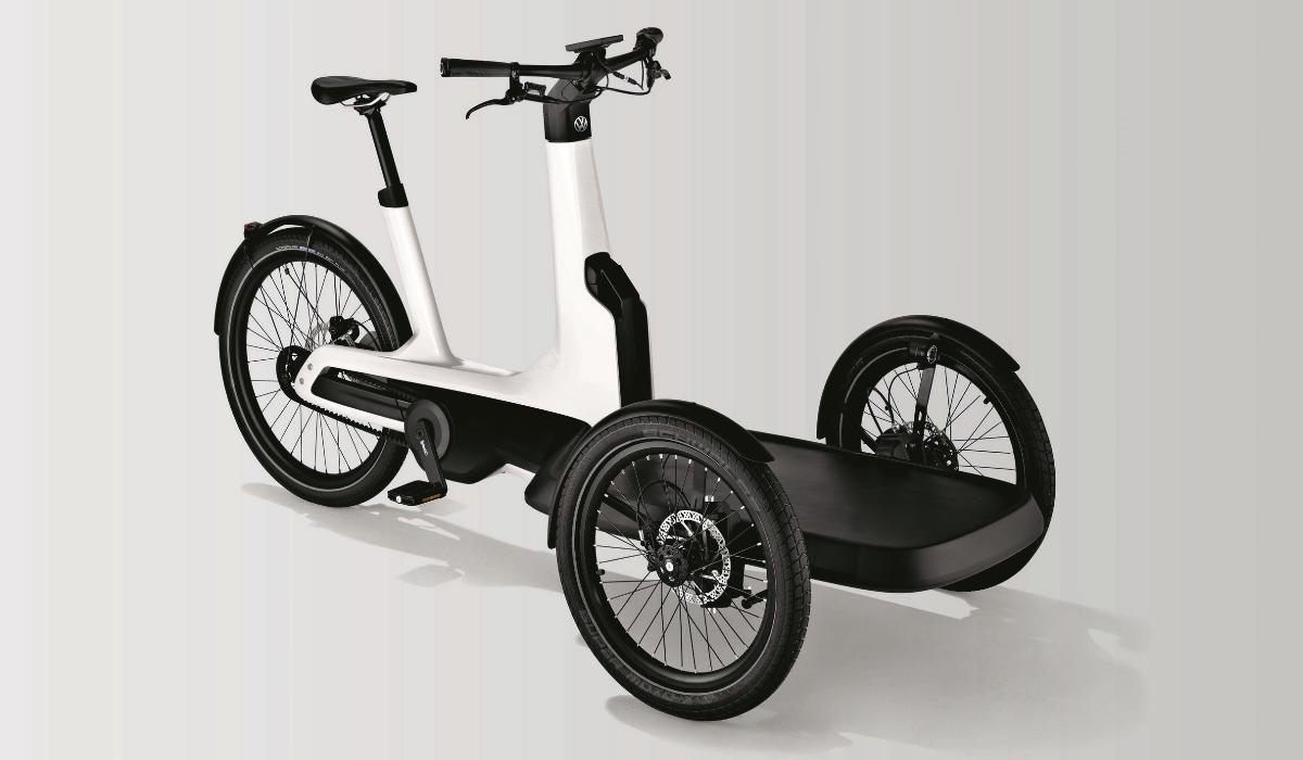 Cargo e-Bike, o comercial mais pequeno da Volkswagen