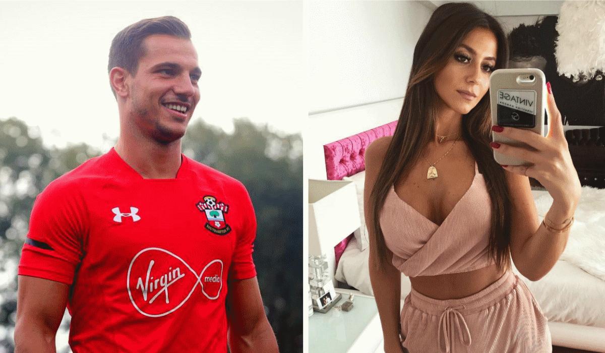 Cédric marca golaço em Inglaterra, Mourinho não gosta e o destaque vai para a namorada do jogador