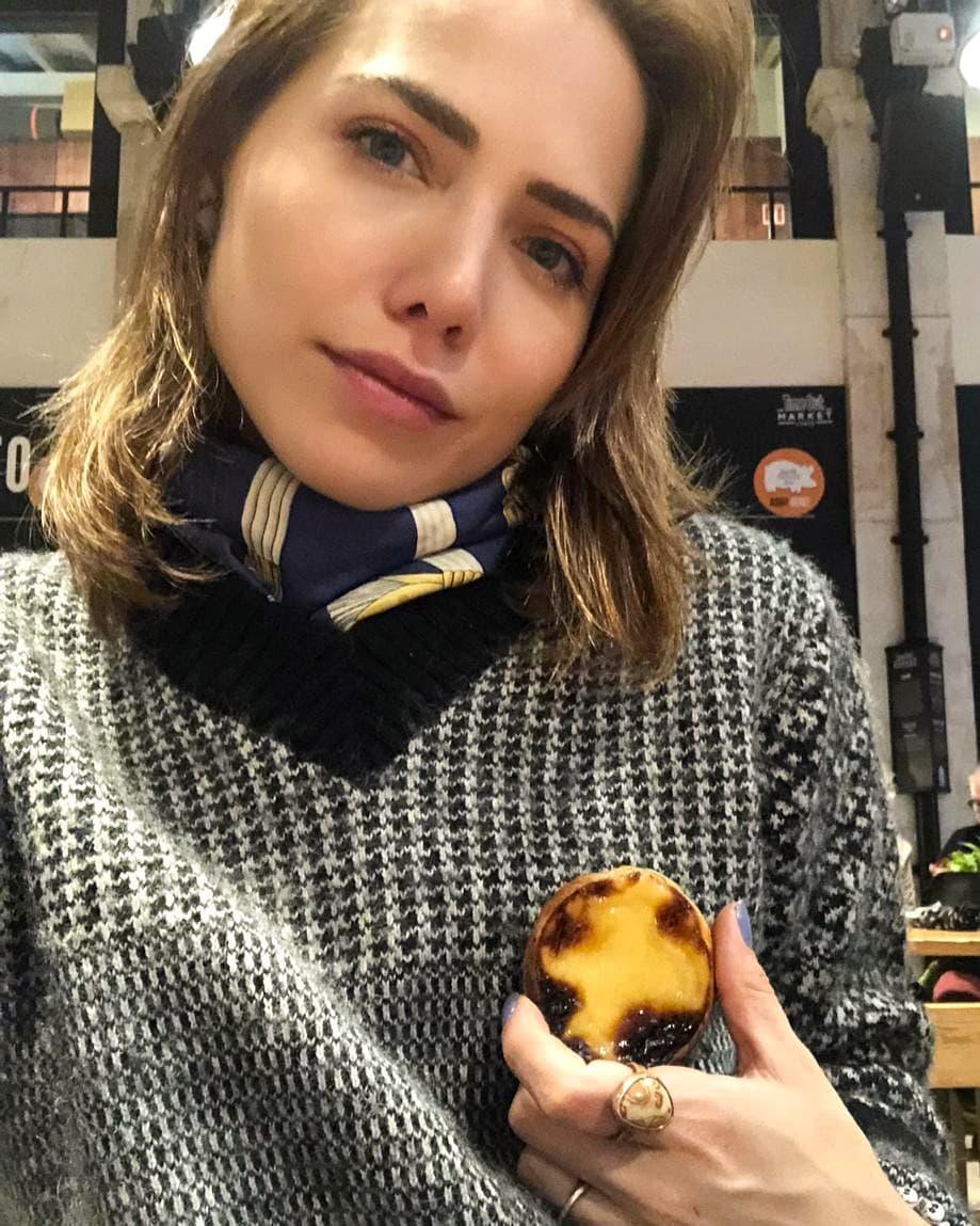 Letícia Colin, a atriz brasileira que reage à censura dos mamilos com pastel de nata