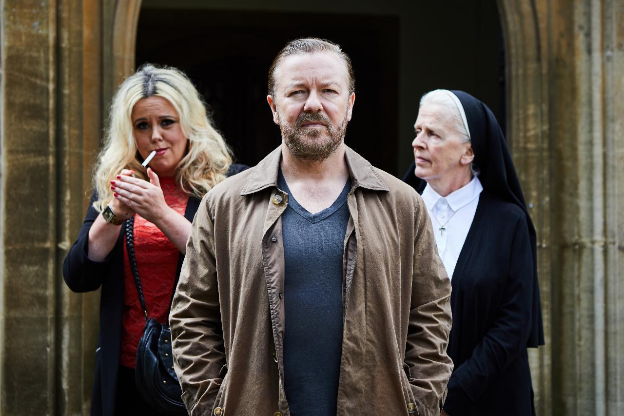 """Ricky Gervais é o protagonista de """"After Life"""", a nova aposta da Netflix"""
