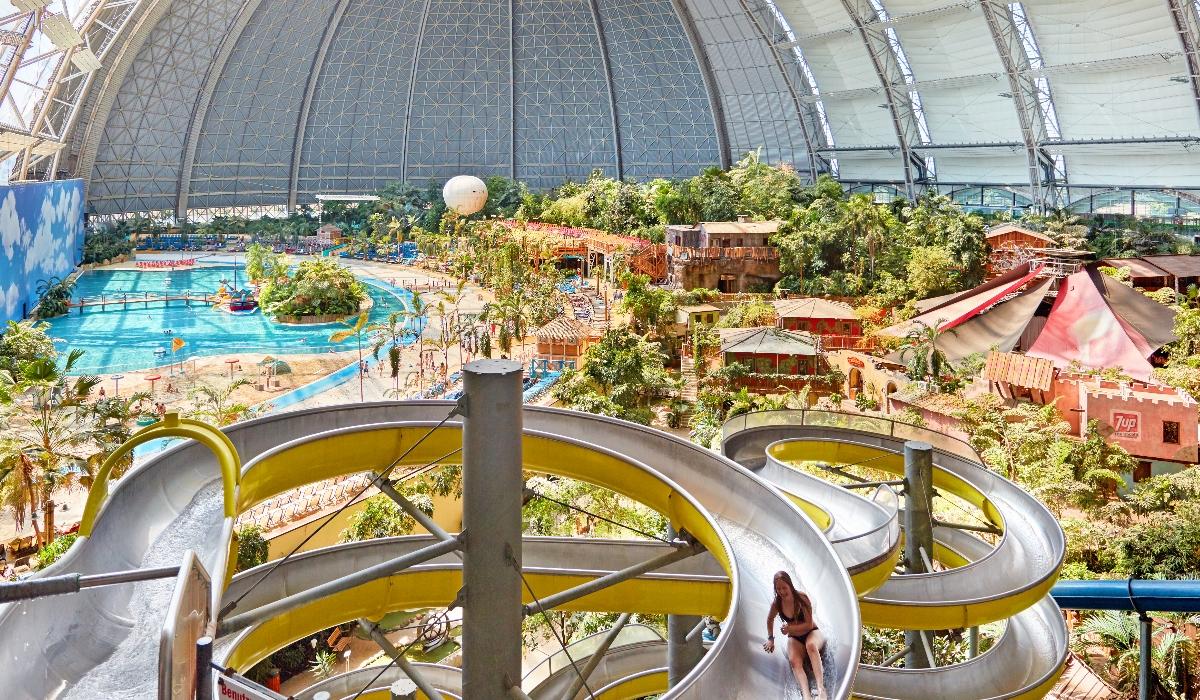 Tropical Islands, o parque aquático que está aberto o ano inteiro