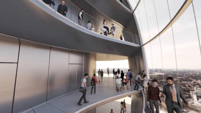 Mais um motivo para visitar Londres, uma túlipa de vidro com 300 metros de altura