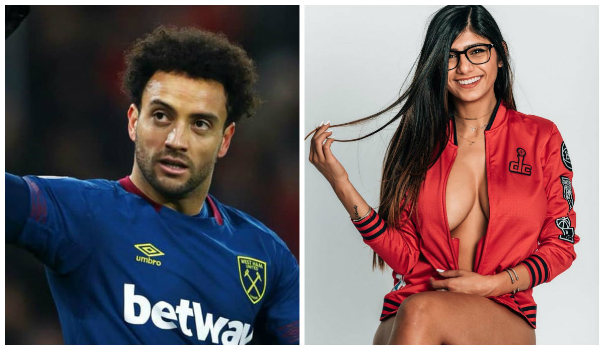 Felipe Anderson, o craque do West Ham tem o apoio especial de Mia Khalifa