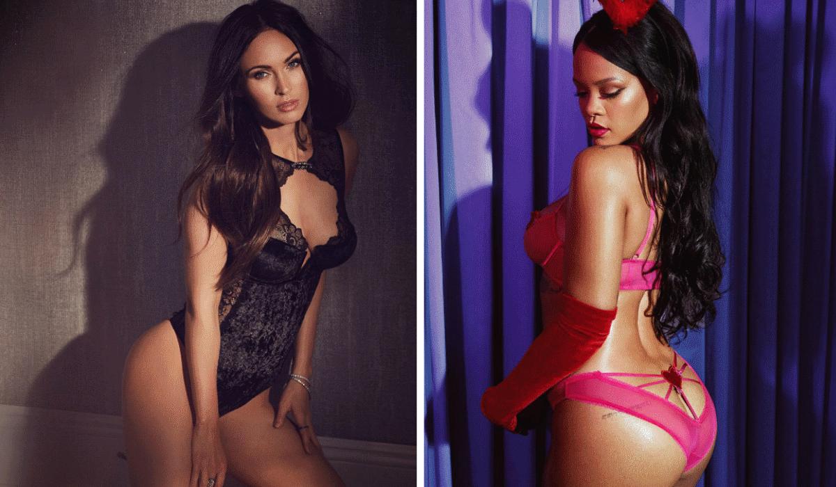 Megan Fox, Rihanna e outras 17 celebridades revelam as suas fantasias sexuais