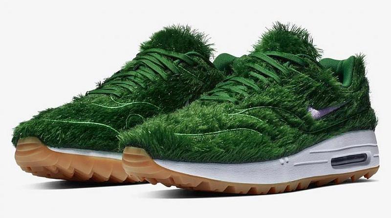 Nike lança Air Max 1 com relva sintética