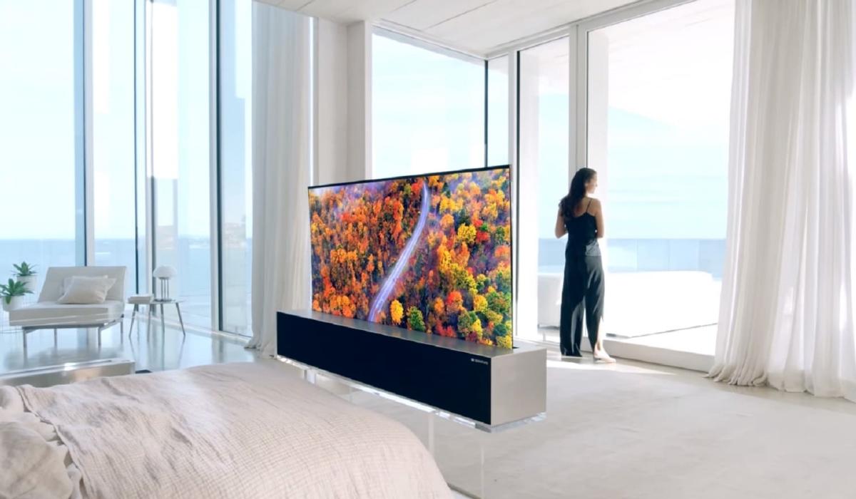 Depois do smartphone, é agora a vez da televisão dobrável