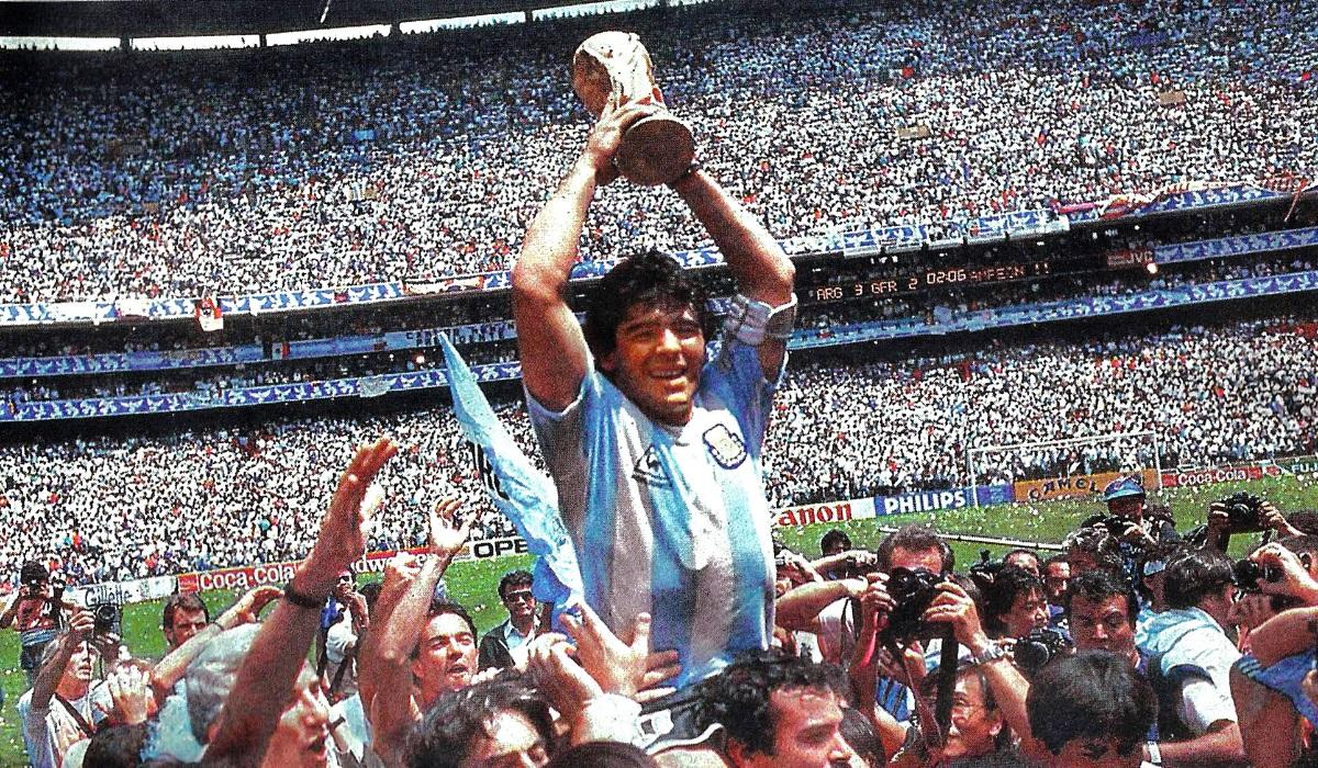 Maradona vai ter uma série inspirada na sua vida e carreira