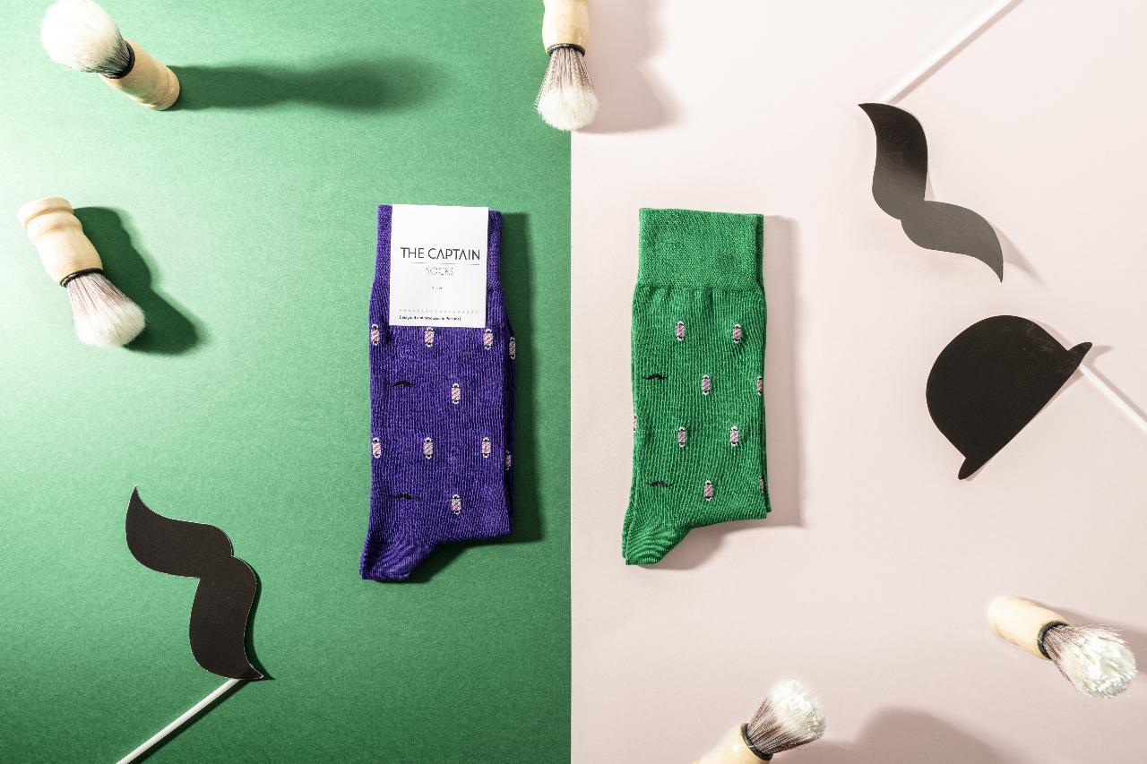 The Captain Socks, as meias 100% portuguesas que vão buscar inspiração ao dia a dia