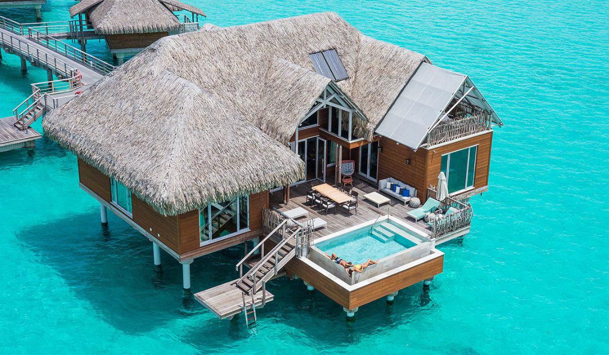 Os bungalows aquáticos mais incríveis da atualidade