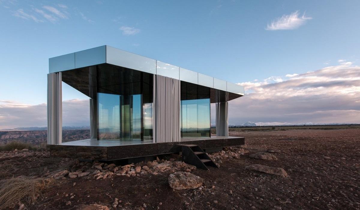 Em Espanha, há um alojamento incrível e fica no meio de um deserto