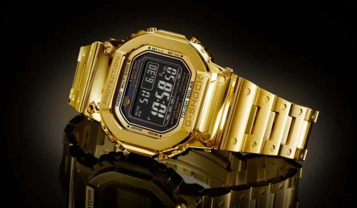 Casio assinala 35º aniversário do G-Shock com o relógio mais caro de sempre