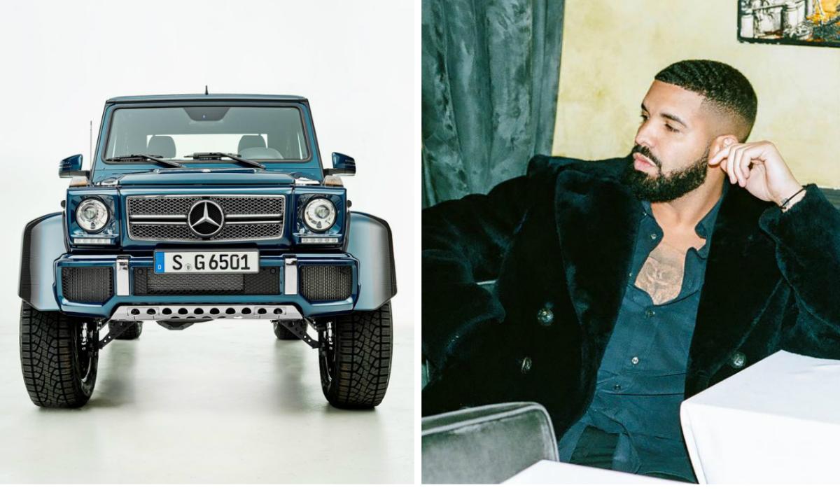 Drake gasta mais de um milhão de euros para comprar Mercedes raro